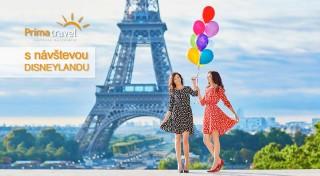 Zľava 41%: Urobte si nezabudnuteľný výlet do Paríža, spoznajte jeho najkrajšie pamiatky a vychutnajte si nádhernú metropolu Francúzska. Vezmite aj vaše deti a vyberte sa aj do slávneho Disneylandu.
