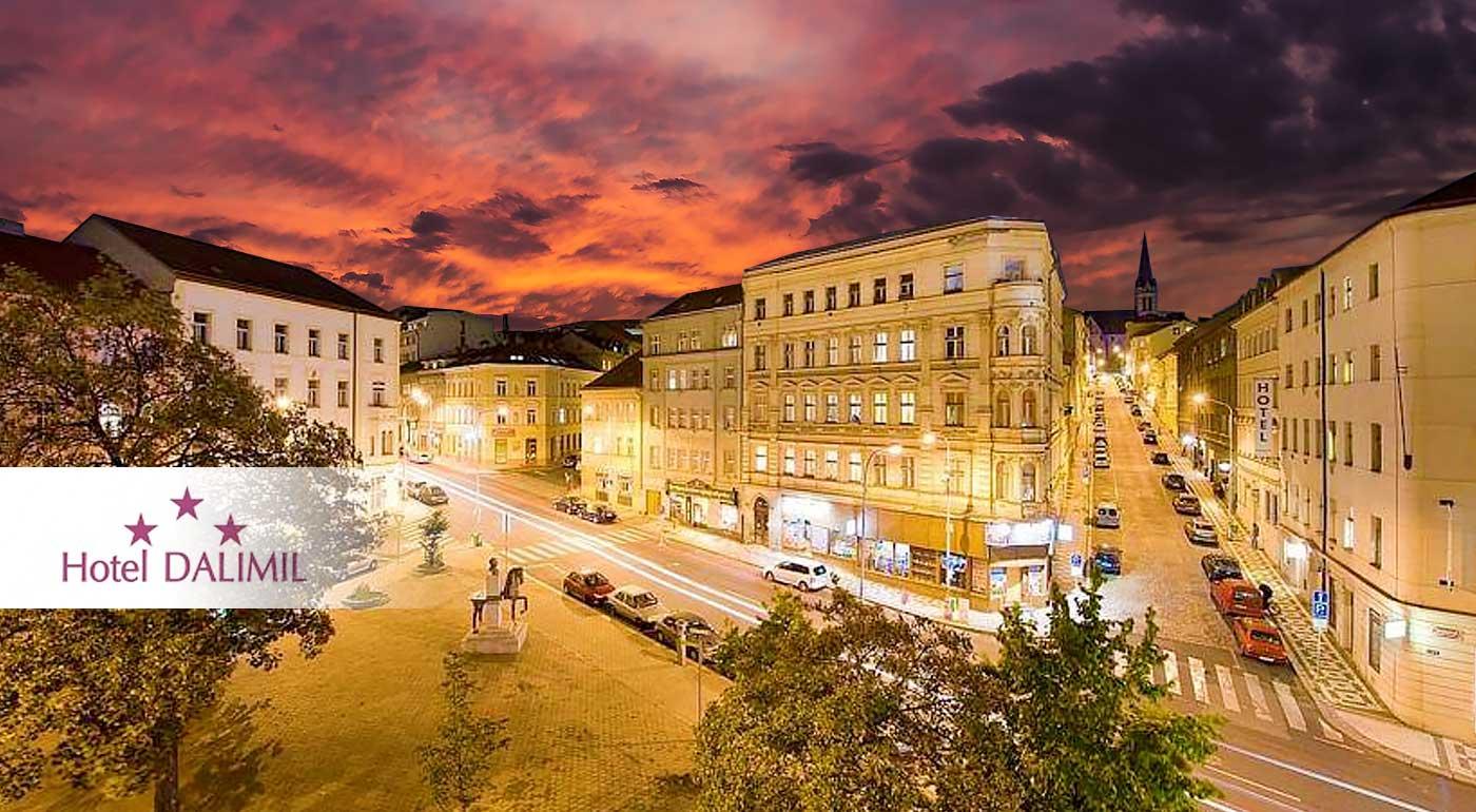 Pobyt pre dvojicu v Prahe v Hoteli Dalimil*** na Žižkove - iba kúsok od historického centra a Hlavního nádraží