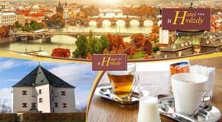 Zľava 40%: Magické 3 dni v obľúbenej Prahe - pobyt v Hoteli U hvězdy*** neďaleko historického centra metropoly len za 38 € vrátane raňajok, dobrej kávičky i sektu na izbe