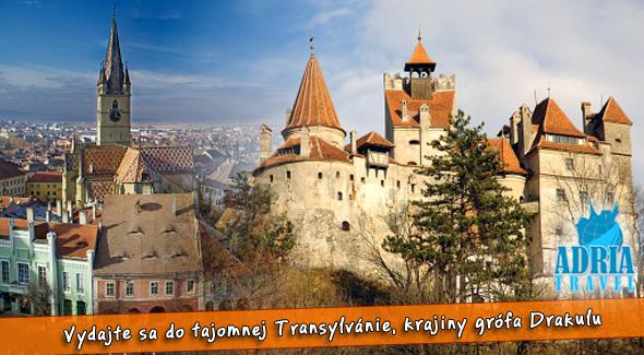 5 dňový poznávací zájazd - Rumusko a Transylvánia. Dni plné dobrodružstva.