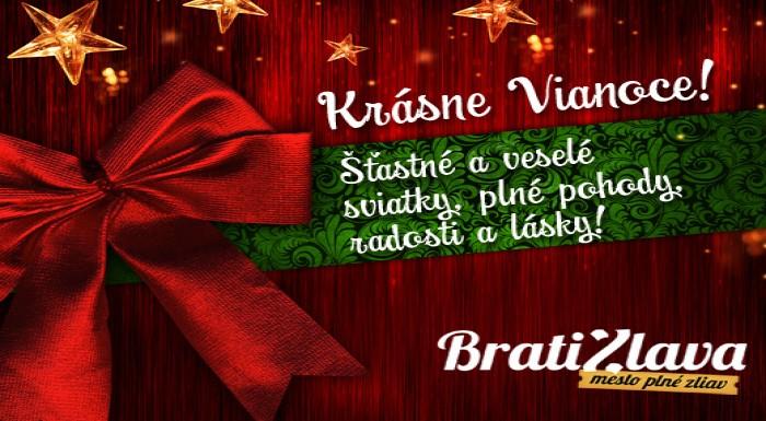 Kolektív BratiZlava.sk Vám praje nádherné a pokojn