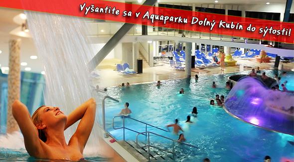 Celodenný vstup do Aquaparku Dolný Kubín za polovicu.