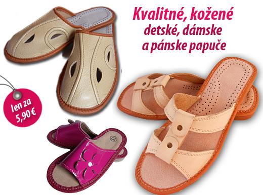 5a906395fb4a Kvalitné ortopedické papuče - kožené detské