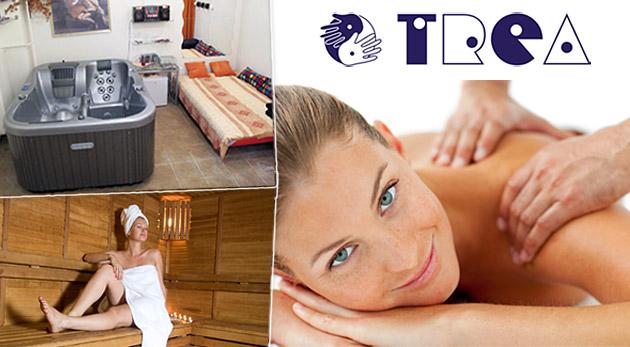Univerzálny kupón na wellness služby v zariadení TREA!