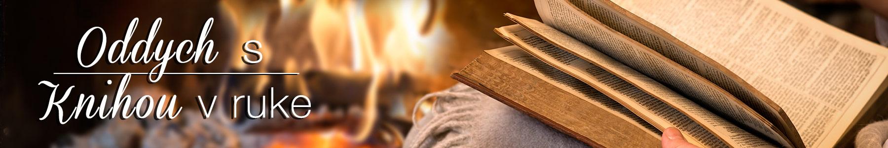 Oddych s knihou v ruke