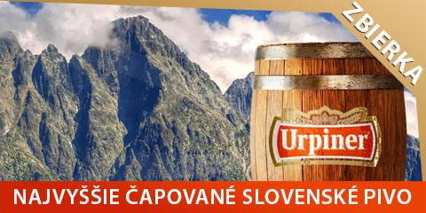 Pivo na Slavkovskom štíte - prispejte na dobrú vec v našich Tatrách